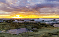 Rocky Sunrise Seascape