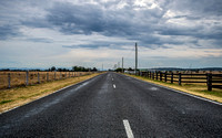 Rural Road and Overcast Sky